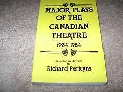 Major Plays of Canadian Theatre 1934-1984-Superb copy