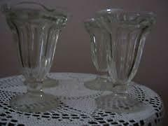 Dominion Glass Sundae Glasses