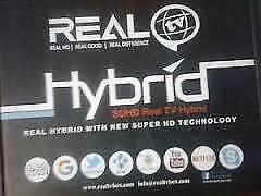 REAL TV   HYBRID TV BOX  INDIAN PAKISTANI AFGHANI  BANGLADESHI