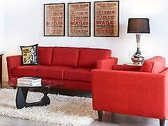 Free Delivery on Locally Made, Mid Century Sofas and 2 Chairs