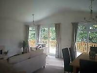 DOUBLE LODGE*FOR SALE*12 MONTH PET FRIENDLY PARK*SITED nr MORECAMBE