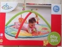 Carousel Play Gym Padded Toy Bar Baby Play Mat Arch Brand New Sealed Boxed
