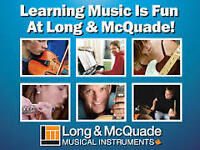 Drum Lessons at Long & McQuade!