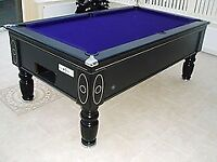 SUPREME PRINCE NEW 6 X3 POOL TABLE BLUE OR GERRN CLOTH