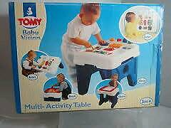 Tomy multi-activity table (brand new and boxed)