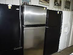 SALE! - White /  Black Fridges starting at $280 to $380 /   with WARRANTY at 9267 -50 Street   -   USED  Sales