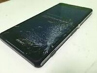 Sony xperia z3 compact for spare or repair screen broken