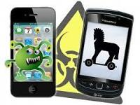 Mobile Phone Spyware & Virus Detection Service