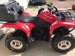 2005 Grizzly 660 4x4 with blade