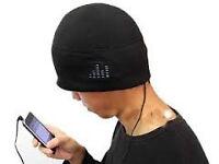 hat beenie headphones bluetooth