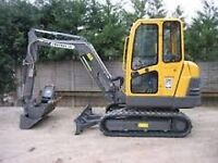 Mini Digger Hire Wanted