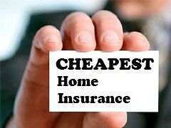 Get the CHEAPEST Home Insurance Possible!