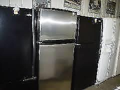 Fridges  SALE /  Stainless SxS $600 / White Top Freezer $300 / Stainless Top Freezer $425 / Black Top Freezer $375