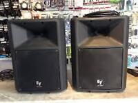 SPEAKERS AMPLIFIEES ELECTRO VOICE SZ100A MIXER MACKIE