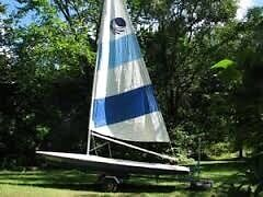 Bombardier Invitation sailboat