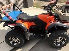 Crossfire Rubicon ATV Farm CVT quad bike 2012 auto winch 89 hours Parramatta Parramatta Area Preview