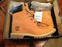 "Women's Timberland Premium 6"" Waterproof Boot Size 7.5/8 Wheat"