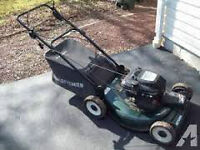 SERVICED LAWNMOWERS