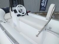 3.8M RIB WITH TRAILER AND OUTBOARD NEW