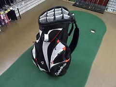 TaylorMade San Clemente Cart Bag Pre-Owned Black/White