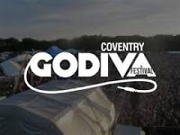 Paid Bar Work at Godiva Festival this July