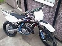 HUSQVARNA WRE 125 2012 ROAD REGISTERED KTM SWAP