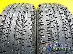 285/60R17Hankook Ventus ST Set of 2 Used allseason tires 80%tread left Free Installation and Balance