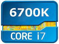 Intel i7 6700K Skylake Processor, CPU, 4 Core, 8Threads, 8 MB cache, LGA1151 Socket