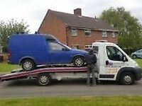 scrap cars vans 4x4 wanted , cash paid , same day collections, hassle free service , top prices paid