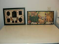 BEARS THEME PHOTO FRAME or Puppies Clothes Rack - MINT!!!