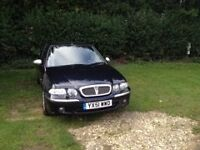 rover 45 connoisseur 51 plate in excellent condition electrical everything 58,500mls best offer!!