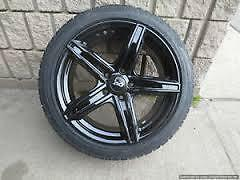 "17"" 5 Spoke Wheels + 215 / 45 R17 Winter tires -- BRAND NEW"