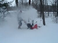 Snow blowing service 506-380-5974