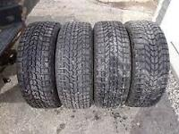 4 pneus HIVER 205/60R16 Firestone Winterforce