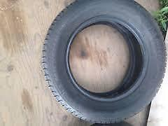 205/65/15 Michelin ice ties with 5 bolt rims for sale $80