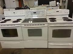 """30"""" - Electric Stoves $280 to $450- Warranty - Used SALE"""