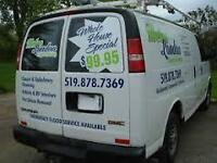 METRO LONDON CARPET CLEANING--DRYER VENT CLEANING