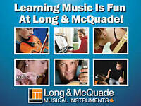 Music Lessons at Long & McQuade!