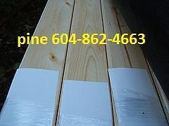 """Pine 4"""" and 6"""" t/g panellling / cear siding bevel channel t/g"""