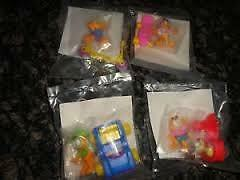 McDonalds Canadian Happy Meal 1989 Garfield set, in sealed bags Kitchener / Waterloo Kitchener Area image 1