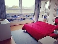 5 Min Walk To Sutton Train Station-Spacious double room