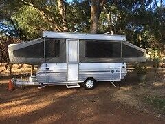 Jayco Swan camper trailer Oakford Serpentine Area Preview