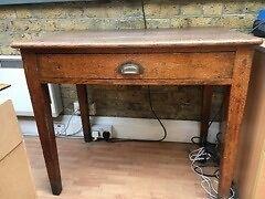 Elegant antique oak table