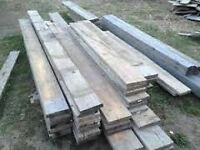 2x6x18 plamks,   and other asst lumber