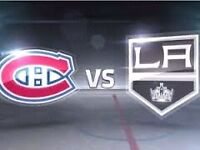 CANADIENS vs KINGS (Thursday/Jeudi 17dec) CHEAP TICKETS