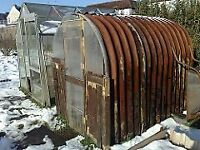 Wanted, corrugated metal shed