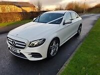Wedding Car Hire from just £120. Mercedes E Class, S Class and V Class People Carriers,