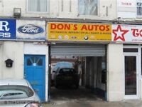 Mechanic shop or Garage or parking storage workshop for rent in plaistow