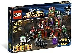 Lego 6857 The Dynamic Duo Funhouse Escape NEW MISB