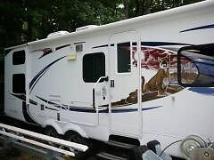 2010 Forest River 26BH Bumper Pull RV with Bunks